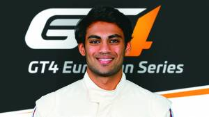Akhil Rabindra is the only Asian to bag a spot in Aston Martin Racing Driver Academy