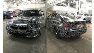 Next-Gen BMW G20 3 series sedan spied in India - launch soon