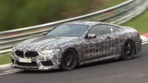 BMW M8 is in works, caught testing on the Nurburgring circuit