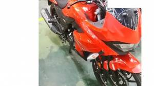 Fully faired Hero motorcycle spotted undisguised - could be the next-gen Hero Karizma?