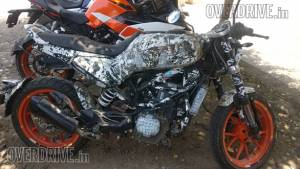 Husqvarna Vitpilen 401 spotted on test - India launch soon