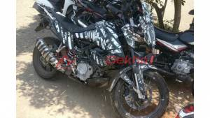 Test mule of the KTM 390 Adventure spotted once again - reveals more details