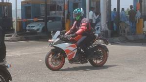KTM RC 125 spotted on test in India - launch soon