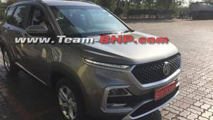 Production ready MG Hector spied in India - launch soon