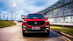 2019 MG Hector SUV revealed in official images, to get a 48V mild hybrid petrol