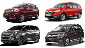 Spec Comparison: Maruti Suzuki Ertiga vs Mahindra Marazzo vs Renault Lodgy vs Honda BR-V