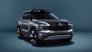 Mitsubishi e-Yi Concept crossover SUV will be showcased at the Shanghai International Auto Expo