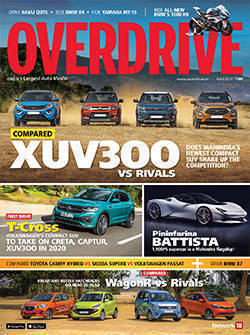 OVERDRIVE's April issue is on stands now!