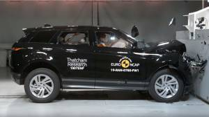 India bound 2019 Range Rover Evoque SUV scores 5-star rating in Euro NCAP safety test