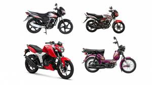 TVS launches three motorcycles and one moped in Bangladesh