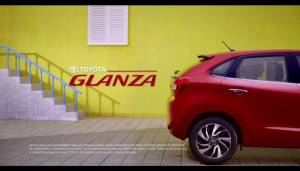 2019 Toyota Glanza hatchback, rebadged Baleno teased in a video