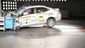 Toyota Yaris scores a four-star safety rating at Latin NCAP