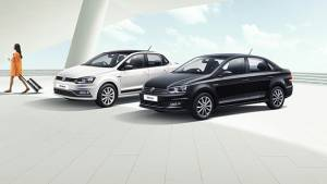 Volkswagen Ameo, Polo and Vento launched in Black and White edition at no additional cost