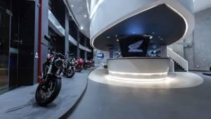 Honda's first BigWing premium bike dealership inaugurated in Gurugram, India