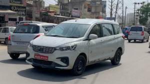 2019 Maruti Suzuki Ertiga MPV 1.5 diesel spotted testing