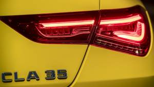 2019 Mercedes-AMG CLA 35 4matic teased ahead of debut