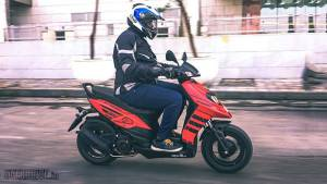 Exclusive: 2019 Aprilia Storm 125 first ride review
