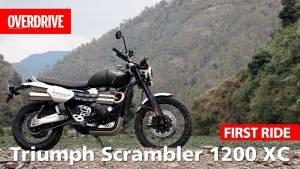 Triumph Scrambler 1200 XC | First Ride