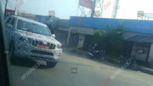 2020 Mahindra Scorpio SUV spotted testing under camouflage