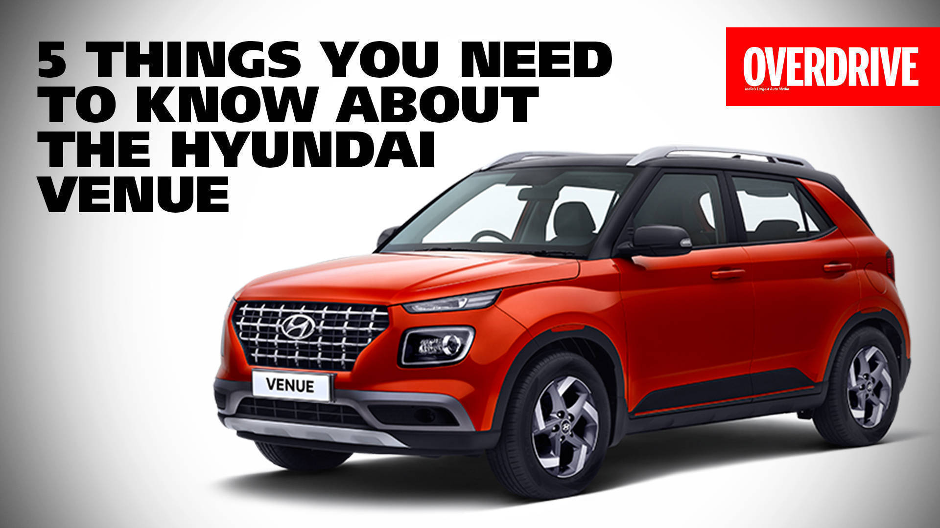 2019 Hyundai Venue SUV: Top 5 things that you should know