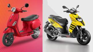 Aprilia Storm 125, SR 160 and SR 125 BSVI scooter prices revealed