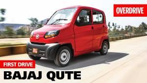 Bajaj Qute | First Drive