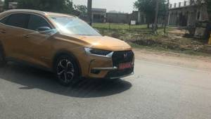 DS7 Crossback SUV by PSA group spotted in India once again