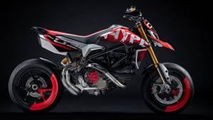 Ducati Hypermotard 950 Concept showcased at the Concorso d'Eleganza Villa d'Este