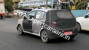 Second generation Hyundai Grand i10 spotted on test in Mumbai - launch soon