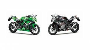 Kawasaki Ninja 300 gets two new colour schemes in India at no additional cost