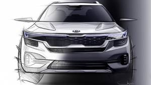 Made-in-India Kia SUV design sketches released, to be launched in India by June 2019