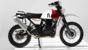 Dakar-inspired Royal Enfield Himalayan by Fuel Motorcycles looks rad!