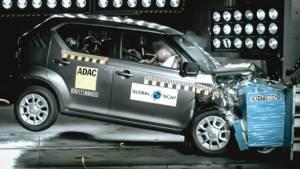 Indian-made Suzuki Ignis scores three stars in global NCAP