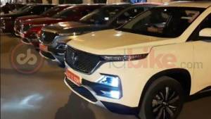 2019 MG Hector SUV colour options spotted in spy shots