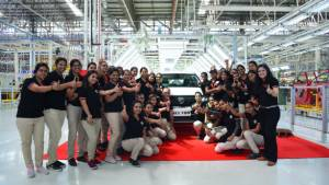MG Hector SUV production begins ahead of May 15 unveil