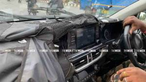Upcoming Kia Seltos SUV interior details spotted in spy photos