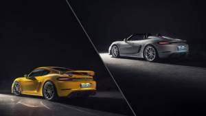 2019 Porsche 718 Cayman GT4 and 718 Spyder unveiled with six-cylinder power