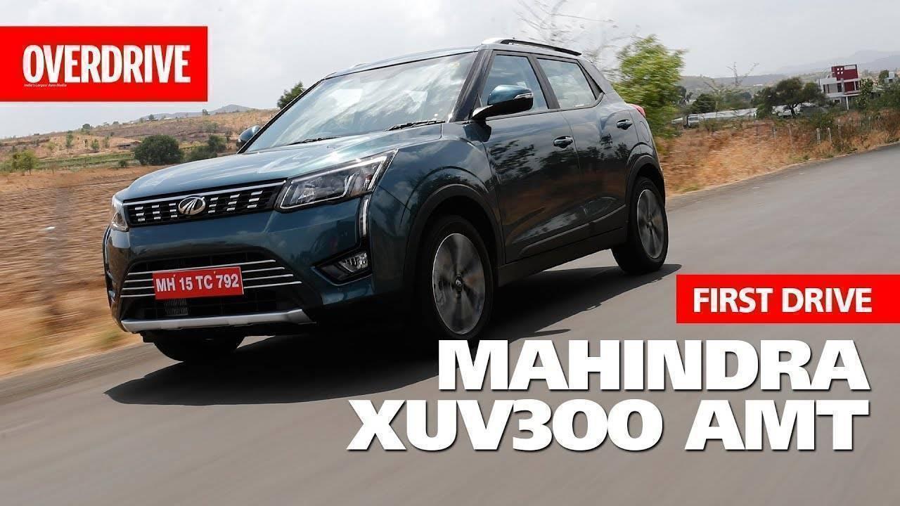 2019 Mahindra XUV 300 AMT | First Drive