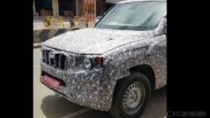 2020 Mahindra Scorpio SUV spied testing again