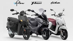 22KYMCO Flow electric, Like 200 and X-Town 300i ABS maxi-scooter launched in India