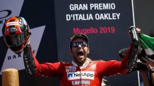 MotoGP 2019: Danilo Petrucci wins Italian GP thriller