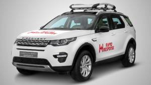 Custom Land Rover Discovery Sport to aid Rapid Response disaster relief in India