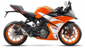 Bookings open for the upcoming KTM RC 125 - Token amount Rs 5,000