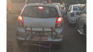 Maruti Suzuki Alto with BSVI engine spotted on test in India