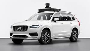 Volvo XC90 SUV powered by Uber's self-driving tech unveiled