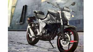 Upcoming Suzuki Gixxer 155 images leaked ahead of its India launch