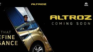 Tata Altroz hatchback teased ahead of its official India launch