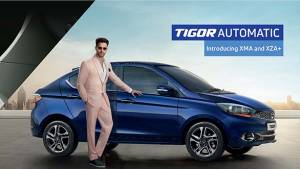 Tata Tigor petrol automatic launched in India - prices start at Rs 6.39 lakh