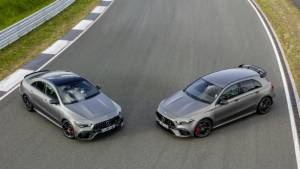 Image gallery: 2019 Mercedes-AMG A 45 and CLA 45