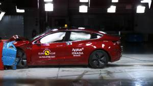Tesla Model 3 EV scores five stars in Euro NCAP safety rating